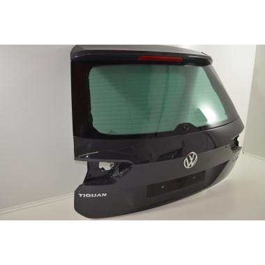 VW Tiguan II AD1 Heckklappe Kofferraumklappe Deckel Urano Grau LI7F Orig.