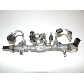 VW Golf 7 VII 5G 1.6 TDI Leitungssatz Motor Kraftstoffverteiler 04L130089 Original