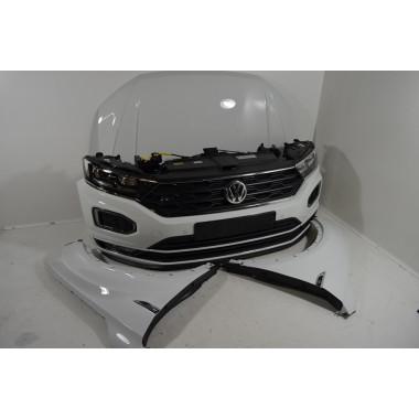 VW T-Roc R-Line Frontpaket Motorhaube Stoßstange LED Scheinwerfer Kotflügel Kühlerpaket