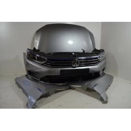 VW Passat 3G B8 GTE Front Frontpaket Kotflügel Motorhaube Kühler Voll LED ORIGIN