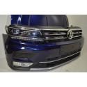 VW Tiguan 2 AD1 Front Frontpaket Motorhaube Stoßstange Kotflügel Voll LED Kühler