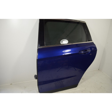 FORD S-Max 2 Tür Hinten Links Indic-Blau Metallic ORIGINAL Bj2015