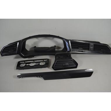 VW Tiguan2 Armaturenbrett Dekorleisten Leisten Blende Zierleisten Tacho Luftdüse