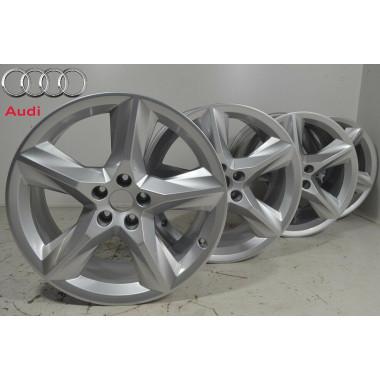 Audi Q7 4M 4xAlufelgen 19 Zoll Felgen Felgensatz 4M0601025AC ORIGINAL