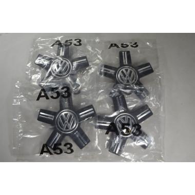 4x Felgendeckel Nabendeckel 760601149 Satz VW Touareg 3 CR7 ORIGINAL NEU!!!