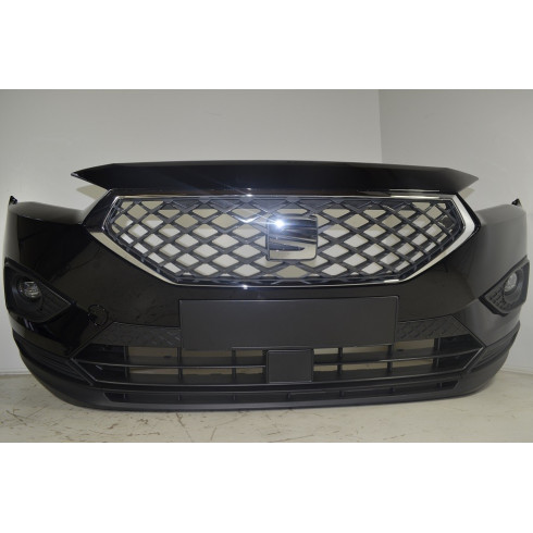 ORIGINAL Seat Tarraco Stoßstange vorne 5FJ807221D Farbe C9X Deep Black