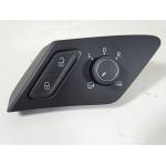Außenspiegelverstellung Schalter 5G0959565 beheizbar ORIGINAL®VW Golf 7 5G