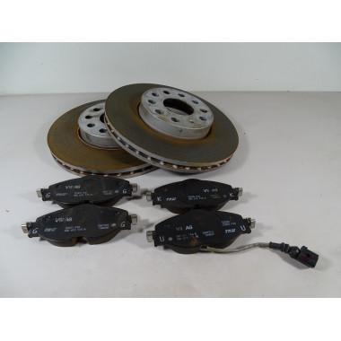 Bremsen Bremsscheiben Klötze Vorne Paar 5Q0615115H/116R/116 ORIGINAL®VW Golf 7